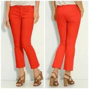 Tory Burch Cropped Jeans